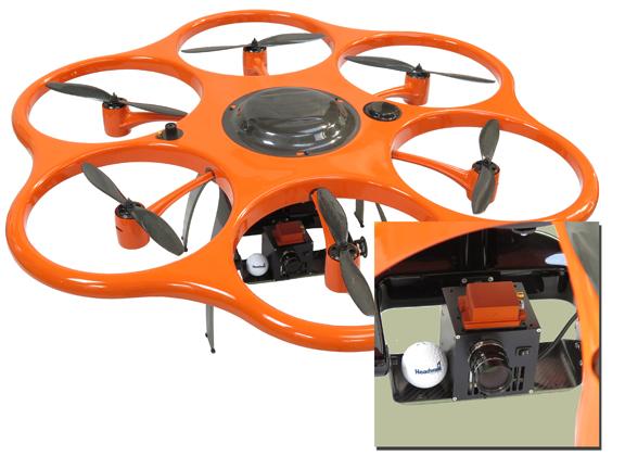 UAV with Nano