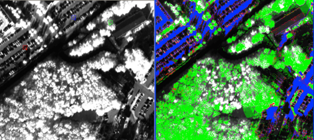 Airborne hyperspectral image