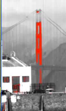 hyperspectral image of Golden Gate Bridge