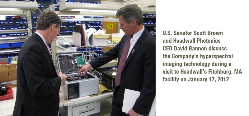 US Sen Scott Brown