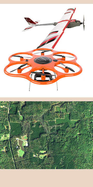 airborne imaging