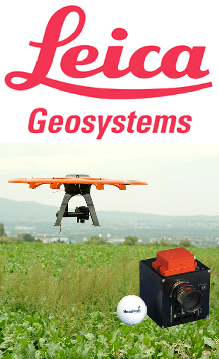Headwall and Leica Geosystems