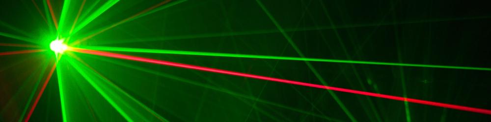 Raman laser banner