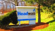 Headwall sign