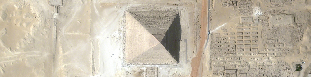 pyramid banner