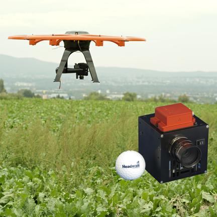 Nano-Hyperspec and UAV