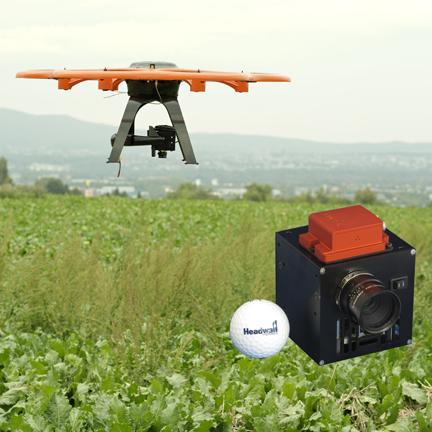 Nano-Hyperspec and UAV