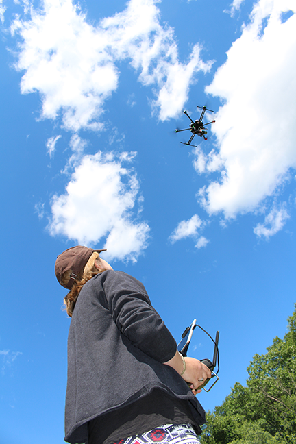 FLYING-UAV