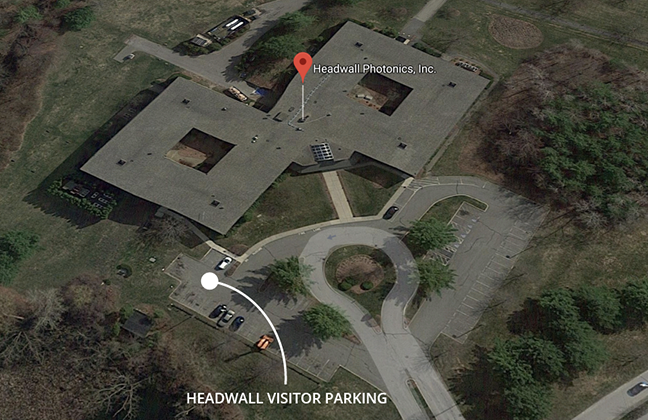 HEADWALL visitor parking