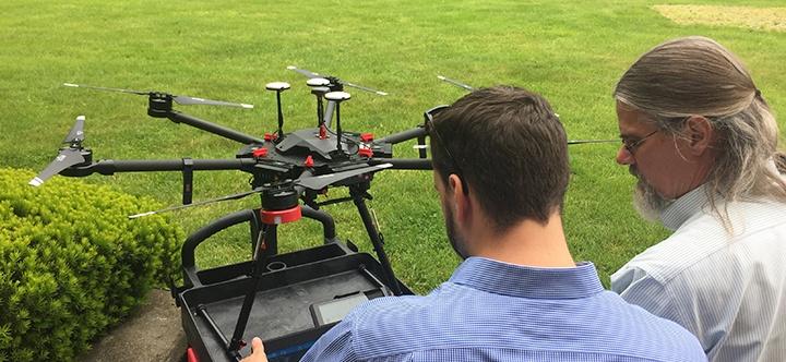 integrating UAV