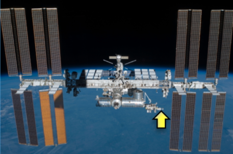 HISUI-Location-on-ISS