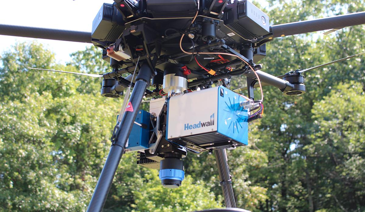 swir-on-drone